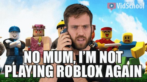 Roblox Vidschool GIF