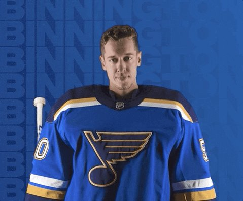 Booyah!!! Shootout win over the former cap'n. #stlblues