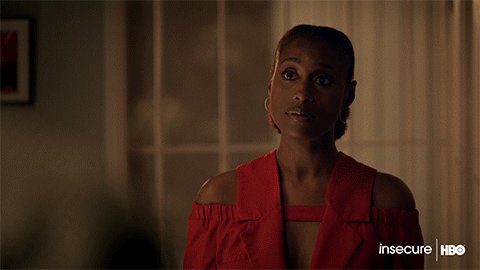 POV: You're my TV playing #InsecureHBO on @hbomax