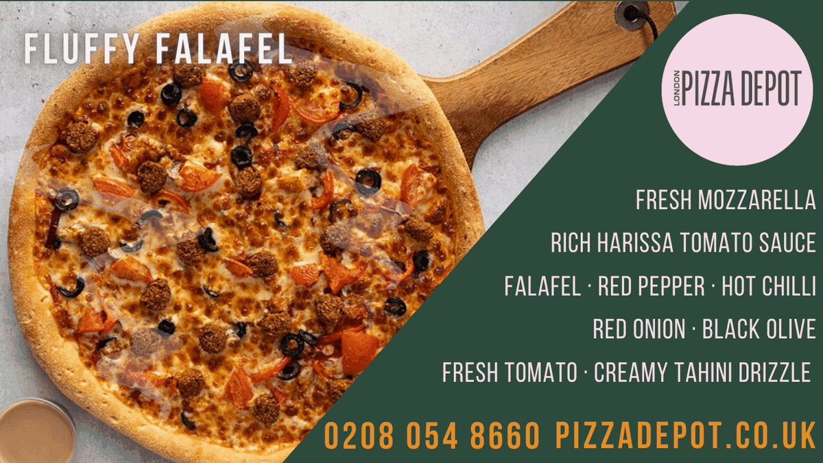 Fag end of #Veganuary & running out of ideas what to eat? Well hello Beirut! This scrumptious pizza is bursting with aromatic flavours & fresh ingredients of the Middle East! Order now:  / 02080548660 #eatouttohelpout #wednesdaythought