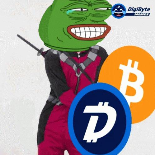 Bitcoin Digibyte GIF