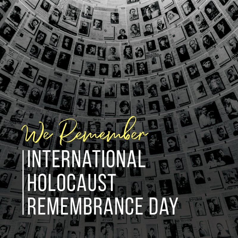 76 years ago, today, the Auschwitz-Birkenau concentration camp was liberated. Since that time, January 27 has been marked as the International Holocaust Remembrance Day for all those who perished during the Holocaust. Let us never forget the victims of this tragedy. #NeverAgain