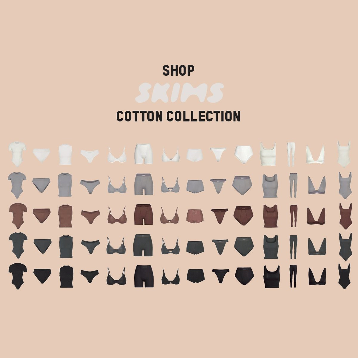 Replying to @KKWMAFIA: Shop @SKIMS Cotton Collection now only at .