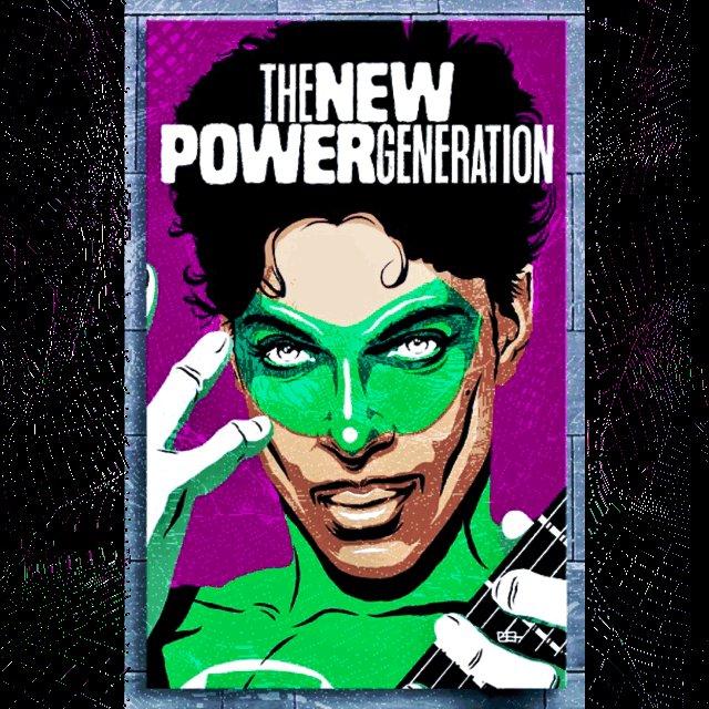 #thenewpowergeneration #prince #greenlantern #purplerain #retxed #retxed70