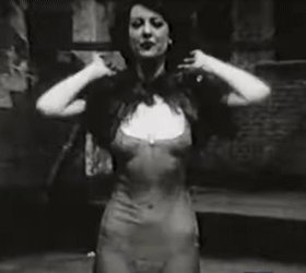 """Gypsy Rose Lee (1911-1970) Author and comedian (among other things😉)... """"Psychology Of A Strip-Tease Dancer""""  Watch:  #burlesque"""