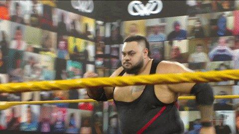 Replying to @WWENXT: 😱 😱 😱 😱  #WWENXT @bronsonreedwwe @swerveconfident