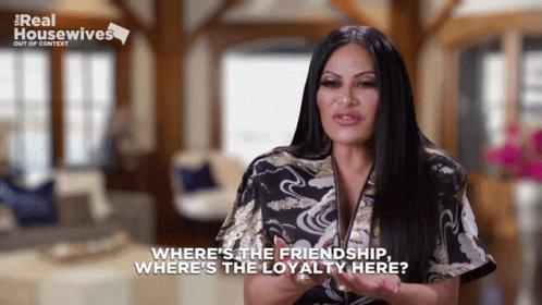 I'm a loyal friend! 🤦🏼♀️ #RHOSLC
