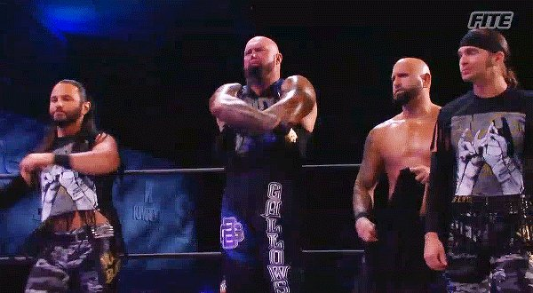 Every time the Bucks break out the tasseled shirts in AEW I get unreasonably emotional about it, but it really got me tonight in particular 🥺 #AEWDynamite