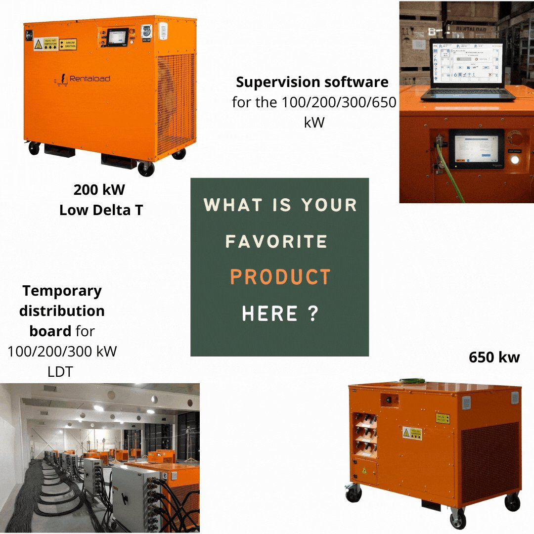 4 new #products again ! 😍 Which one do you prefer ?  #VOTE for your favorite product in comment 🔽   If you don't know them yet discover them quickly here :  #datacenters #commissioning #test #loadbanks