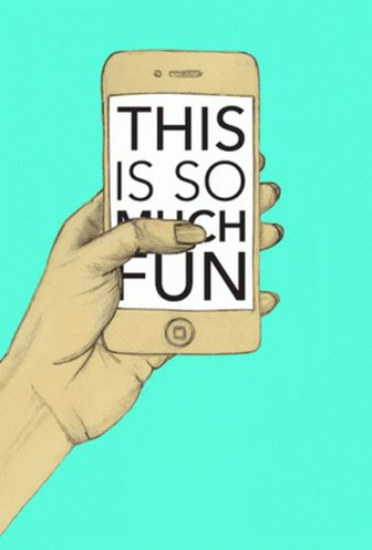 This Is So Much Fun Phone GIF