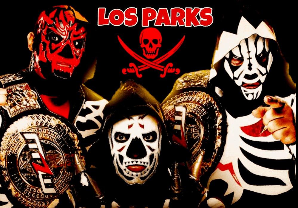 @mas_lucha @laparktapia @LaparkJr @Hijodelapark1 #LosParks 👊😎👍 #wrestlingwednesday #Wrestling #WrestlingTwitter #WrestlingCommunity #LuchaLibre #RaW #AeW #MLWFusion #RealFamilia #LosCampeones @courtbauer @mlwespanol @MLW @laparktapia @Hijodelapark1 @LaparkJr  Best TAG-TEAM in the World.