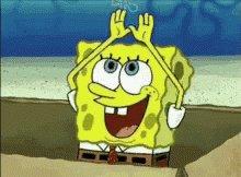 Sponge Bob Freaking Amazing GIF