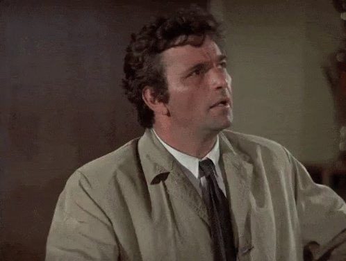Columbo Detective GIF