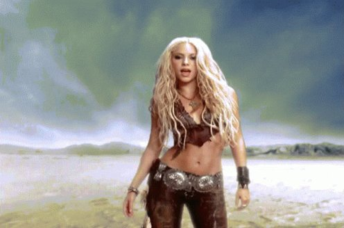 The Church of the Forgiving Eagle would like to wish Ms Shakira a very very happy birthday.