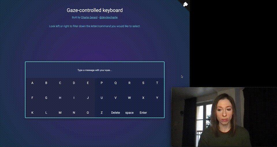 Tensorflow.jsを利用してブラウザ上で目の動きを検出できるJavaScriptライブラリ。視線移動だけで画面をコントロールしたりなどが簡単になる【Gaze-detection】