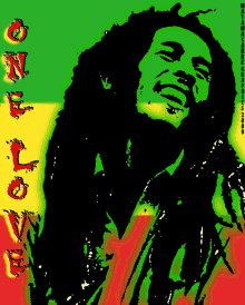 Happy Heavenly birthday Bob Marley a legend. Who believed and positive energy and one love for all.