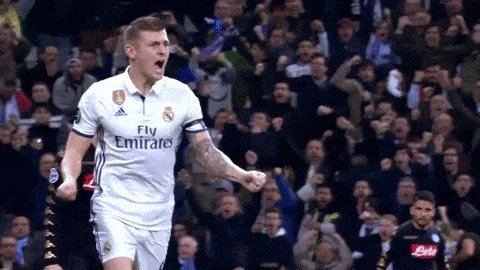 toni kroos soccer GIF by Real Madrid