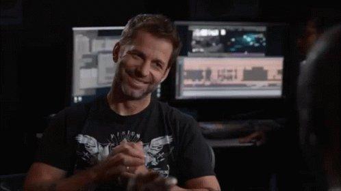 Zack Snyder Cute GIF