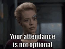 And happy birthday Jeri Ryan Resistance is futile during the birthday party