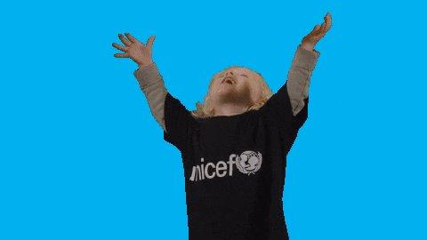 Girl Smile GIF by UNICEF Nederland