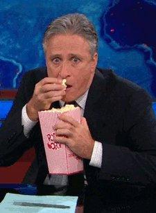 Jon Stewart Popcorn GIF