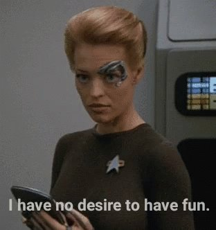 Und dann war da noch:   Happy Birthday, Jeri Ryan aka Annika Hansen aka Seven of Nine