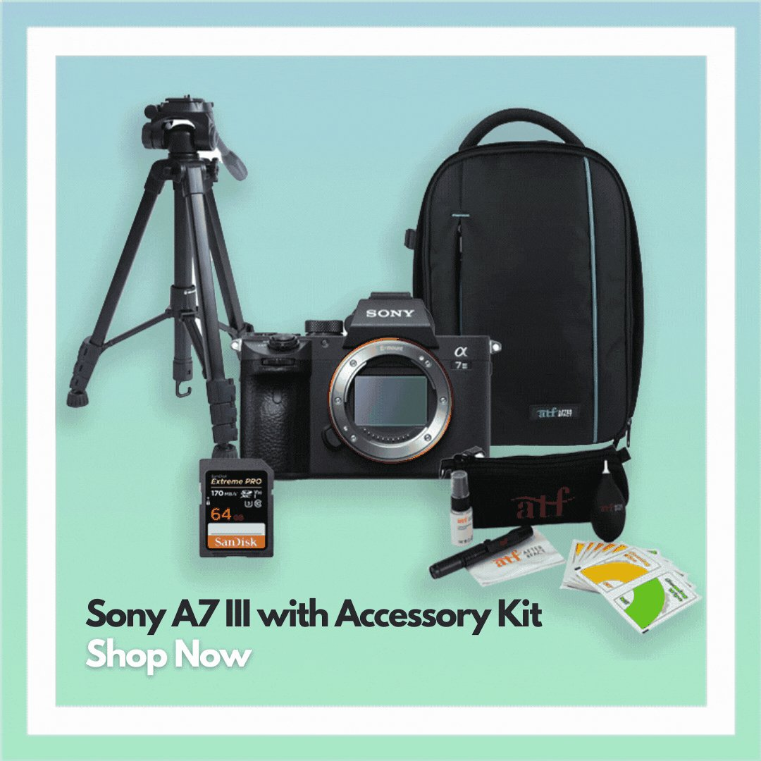 The Sony A7 III with ATF Accessory Kit is a great for spontaneous or quick getaway plans and covers all the basic requirements – tripod, cleaning kit and memory card and a bag to keep it all safe.    Shop Now! https://t.co/y9armNZXxV   @sonyaustralia #sony #photography #Video https://t.co/93lUZf5Rj3