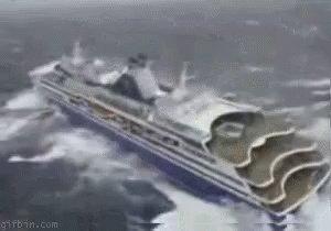 Ship Storm GIF