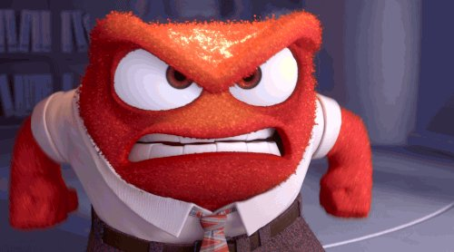 Inside Out Reaction GIF by Disney Pixar