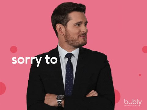 Michael Buble Wink GIF by bubly