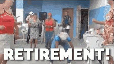 Retirement GIF