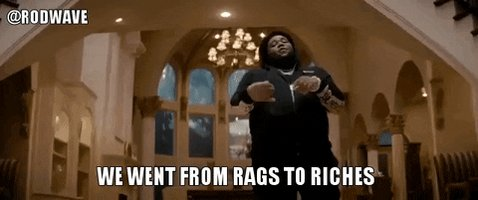 Proud Rags To Riches GIF by Graduation
