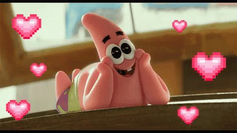 Patrick Star Lovely GIF