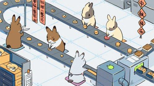 Rabbit Work GIF