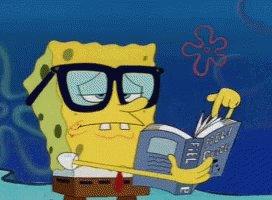Spongebob Thinking GIF