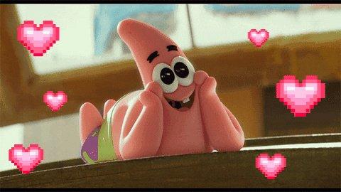 In Love Hearts GIF by SpongeBob SquarePants