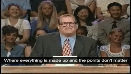 Where Everything Is Made Up Whose Line Is It Anyway GIF