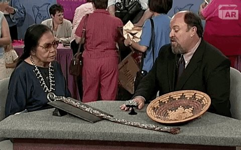 Native American Family GIF by ANTIQUES ROADSHOW | PBS