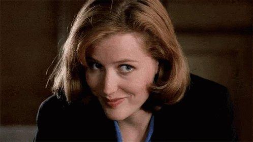 Happy birthday Dana Scully  I love u