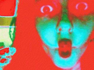 psychedelic hallucinate GIF