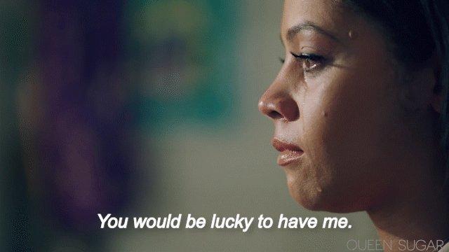We believe in you, Darla. #QUEENSUGAR