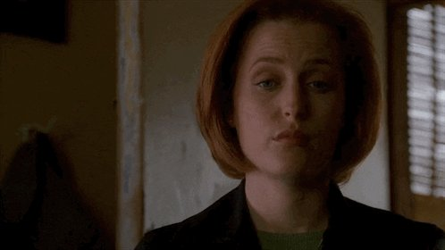 Happy birthday Dana Scully. An inspiration in silent judging and being over men s dumb bullshit