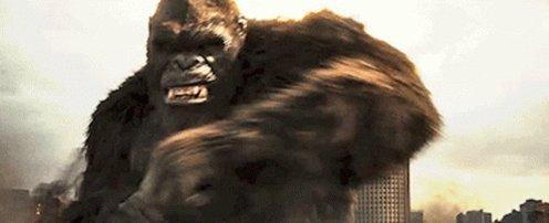 Godzilla Vs Kong King Kong GIF