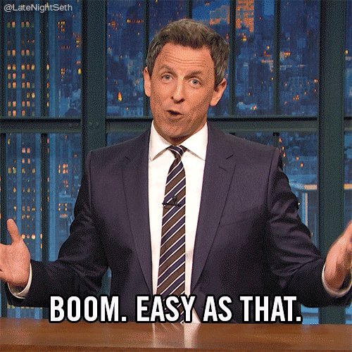 seth meyers boom GIF by Late Night with Seth Meyers