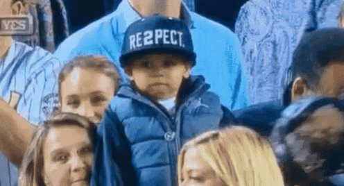 Respect Baby Tip Hat GIF