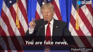 trump fake news GIF