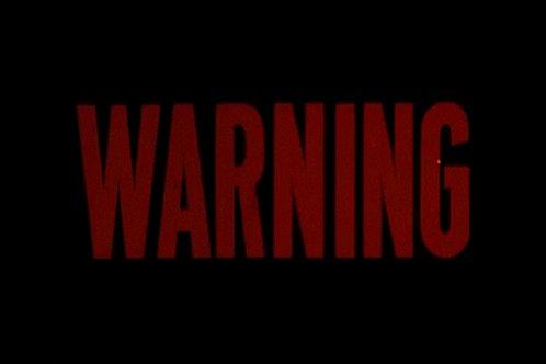 Warning Red Flag GIF