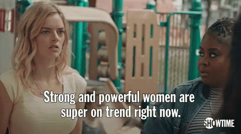 Strong & Powerful Women...