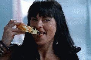 Pizza Eating GIF