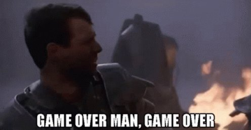 Aliens Game Over Man GIF